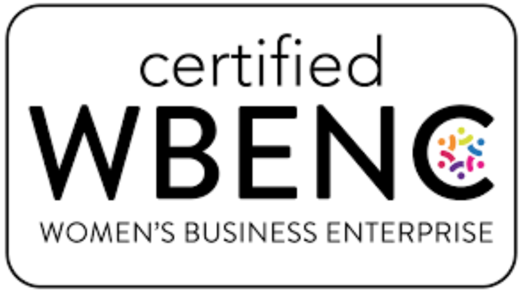 Certified by Women's Business Enterprises