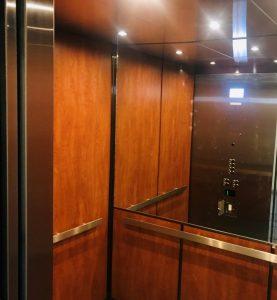 Elevator Metal Refinishing