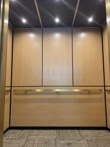 Elevator Cladding