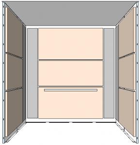 Elevator Wall Designs