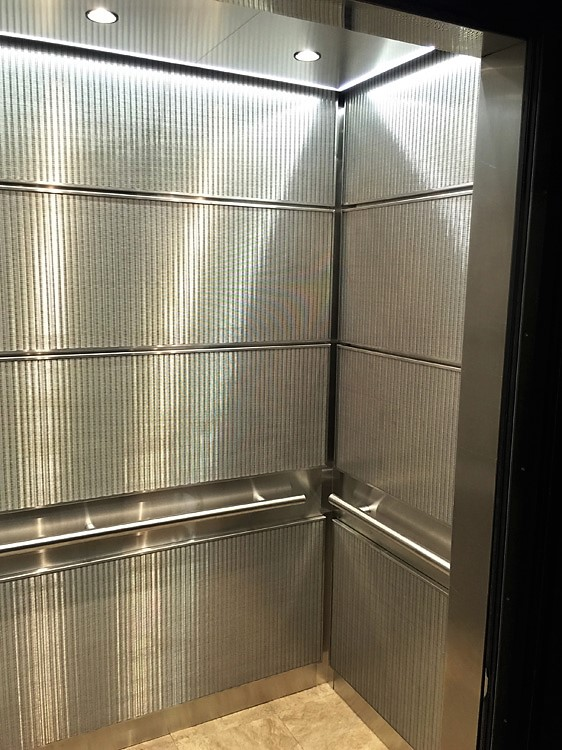 Elevator Cabs Have Handrails