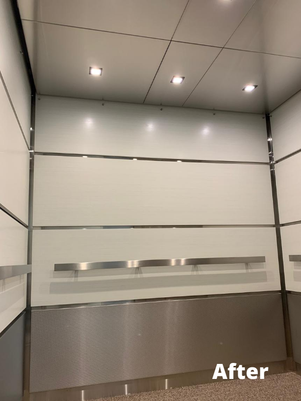 elevator ceiling panels